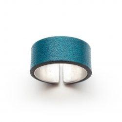 Anne-Sancey_bague-argent-cuir-10-bleu