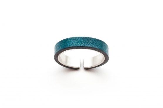 Anne-Sancey_bague-argent-cuir-5-bleu