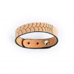 Anne Sancey - bracelet cuir tatoué écailles