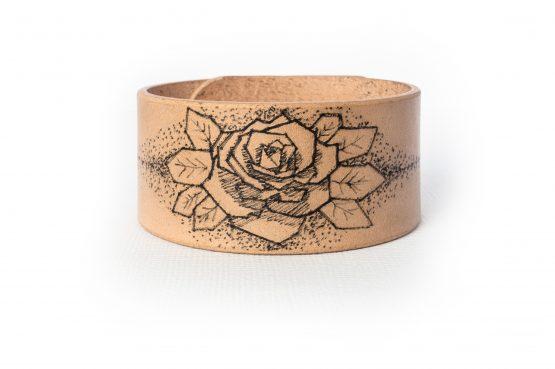Anne Sancey - bracelet tatoué motif Rose