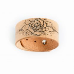 Anne Sancey - bracelet tatoué motif Rose
