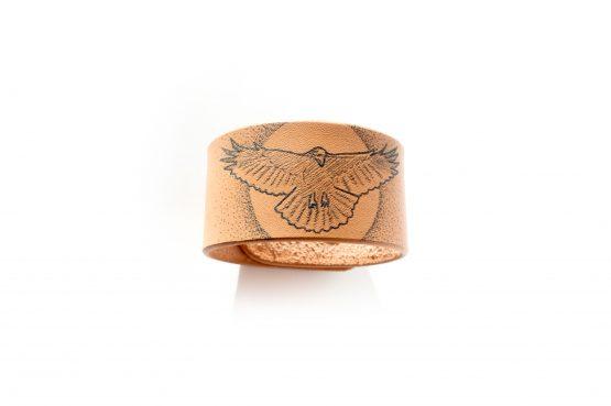 Anne Sancey - bracelet tatoué motif corbeau